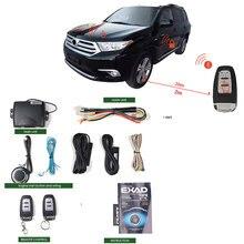 Remote With Auto Start Keyless Entry Central Locking/unlock Door Lock Car Engine Pke With 2remote Control Burglar Alarm System