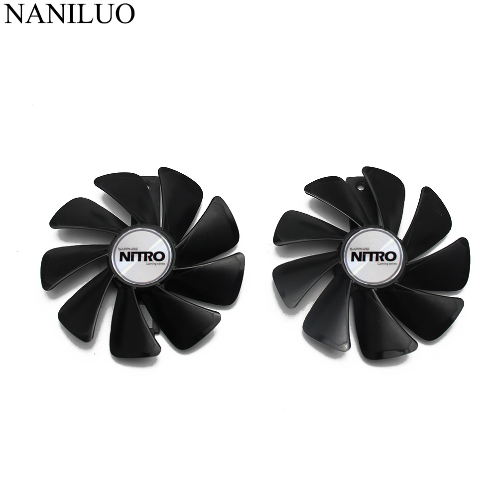 95MM None Cable CF1015H12D/FDC10U12S9-C Sapphire RX580 RX480 RX570 VGA Graphics Fan For NITRO RX 570/580/480 Video Card Cooling