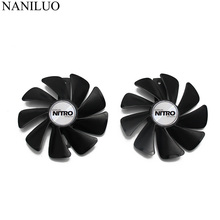 95MM None Cable CF1015H12D/FDC10U12S9-C Sapphire RX580 RX480 RX570 VGA Graphics Fan For NITRO RX 570/580/480 Video Card Cooling original sapphire nitro rx 570 video card radeon rx570 4g ddr5 graphics card directx12 2048sp 1325 7000mhz 3 years warranty