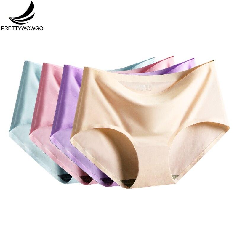 Prettywowgo Hot Sale 2020 Sexy Underwear Women Seamless Panties M L XL XXL 810
