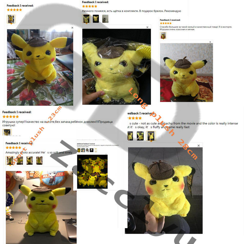 Image 5 - High quality pikachu Stuffed Doll Mewtwo Eevee Toys Japan Anime Figure Game Dolls toys for Boy Birthday-in Stuffed & Plush Animals from Toys & Hobbies