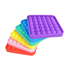 Toy Fidget-Toys Squeeze-Toy Bubble-Sensory Stress-Reliever Push-Pop Ready-To-Ship Silicone