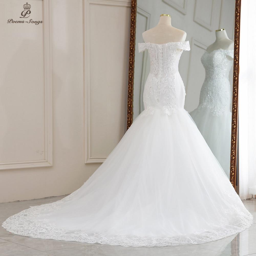 Luxury Sexy style mermaid wedding dress 6
