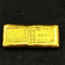絶妙なアンティーク (記念ゴールドインゴット) 装飾品非通貨コイン