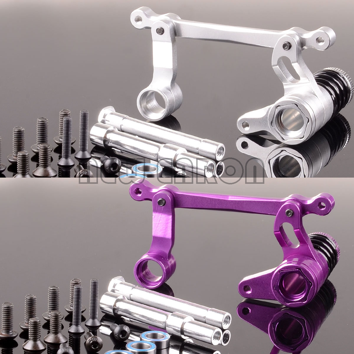 NEW ENRON Aluminum Steering Assembly Replacement 85058 FOR RC HPI Savage Flux XL 4.6 5.9