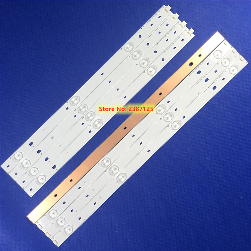 8pcs/set Led Strip For Phi Lips CL-47-D407-R-V2 CL-47-D407-L-V2 DT-BCMN-U6 DB-B23-U6 For 47PFH4109/88 47pfg4109 PT470H1-DUJFFE