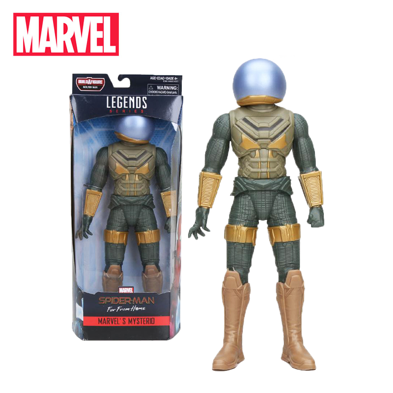 30 centímetros Brinquedos Marvel Legends Série Spider-Man MYSTERIO Longe de Casa ESCORPIÃO SPIDERMAN PVC Action Figure Model Collection bonecas