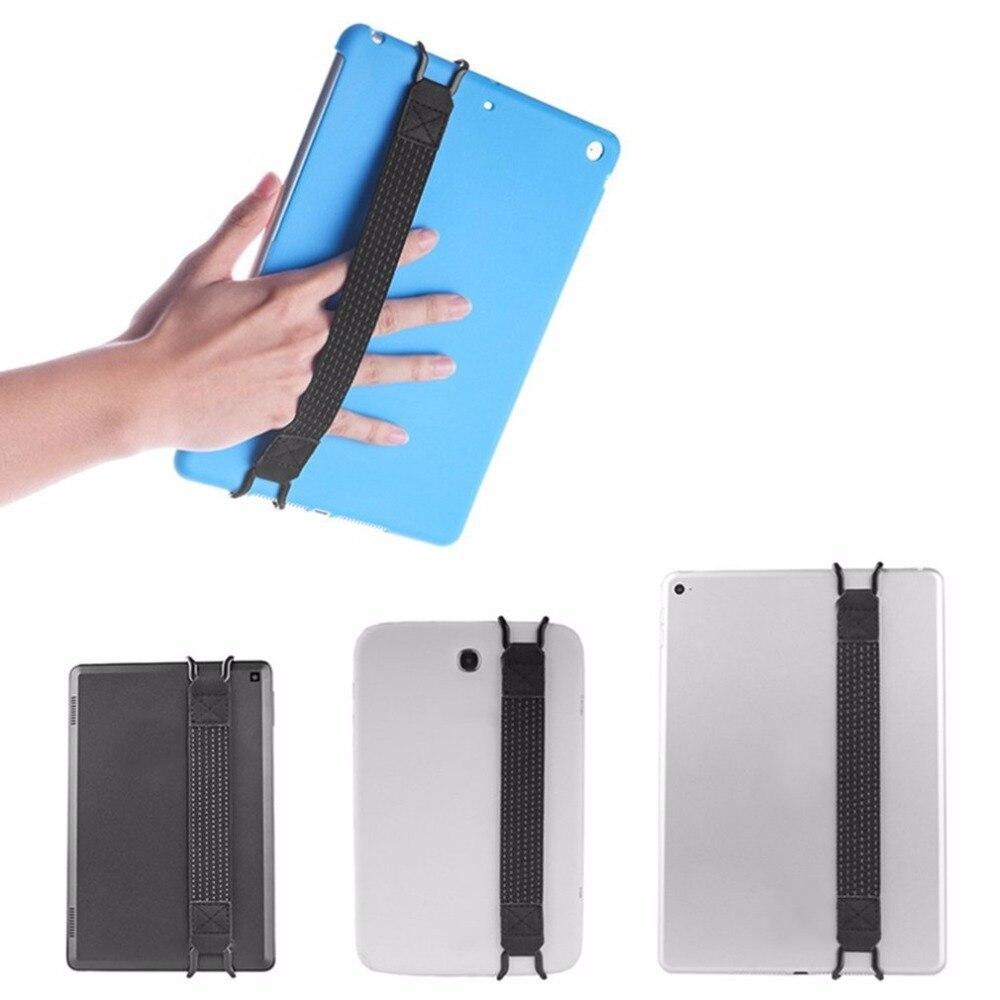 Universal Finger Grip Elastic Band Strap Phone Holder One Hand Operation Anti-slip Strong Metal Bracket Strap For Mobile/iPad