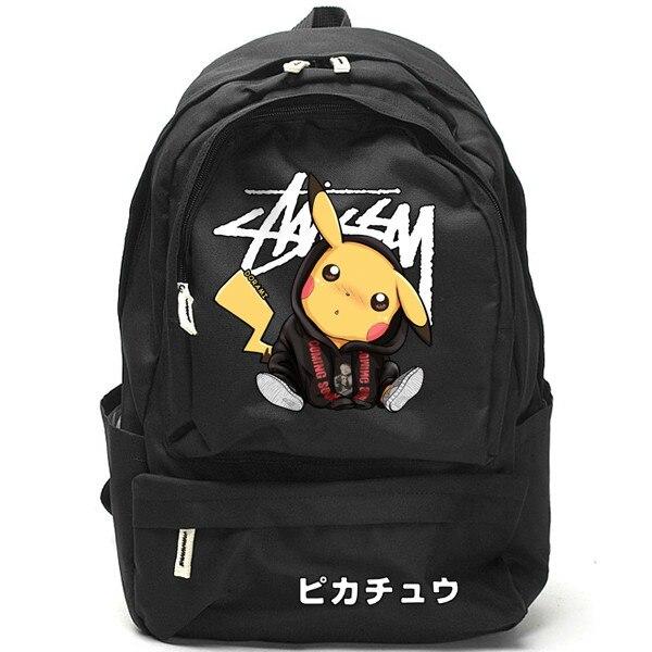 Japon Manga poche monstre Pikachu sac à dos écureuils sac à bandoulière