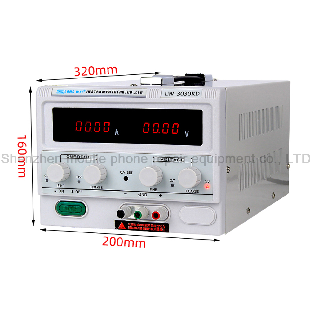 Image 3 - LW 3030KD 30V/30A High Precision Digital Display Adjustable DC Regulated Power Supply Repair Testing Lab Switching Power SupplyVoltage Regulators/Stabilizers   -