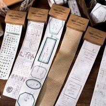 Plante étiquette lettres matériel papier ordure Journal planificateur Scrapbooking Vintage décoratif papier pour travaux pratiques