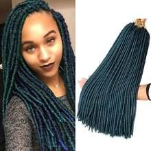 Dairess 18 дюймов разные цвета зеленые искусственные волосы