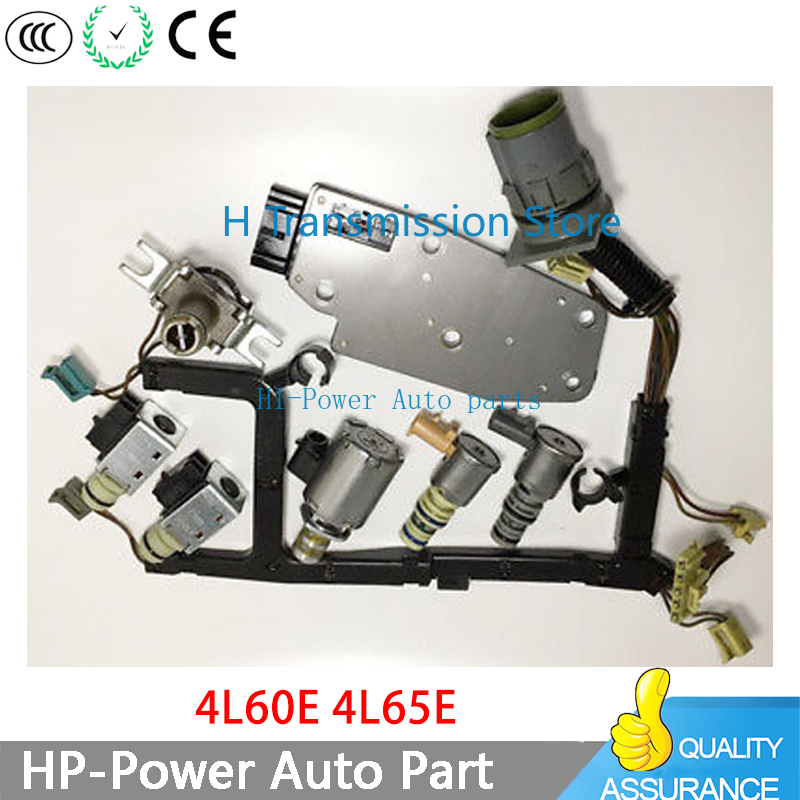 4L60E 4L80E 4L30E 4T80E orijinal test şanzıman kontrol vanası solenoid için tel ile 93-05 EPC vites TCC 3-2 PWM 4l60e