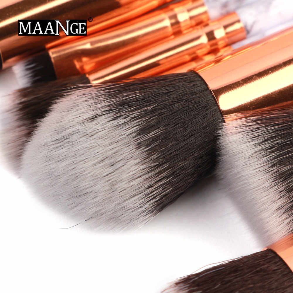 Maange 15 pçs pincéis de maquiagem conjunto profissional rosto sombra eyeliner fundação blush compõem escovas conjuntos pinceaux maquillage