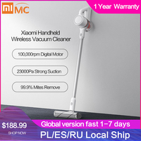 Xiaomi Mijia Handheld Wireless Vacuum Cleaner Portable Cordless Cyclone Filter Aspirador Home Sweeping Carpet Dust Collector