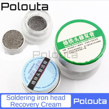 Polouta Soldering Iron Head Resurrection Cream Removes Oxidation  Layer Cleaning Oxide Blackening Repairing Protect Tin Layers