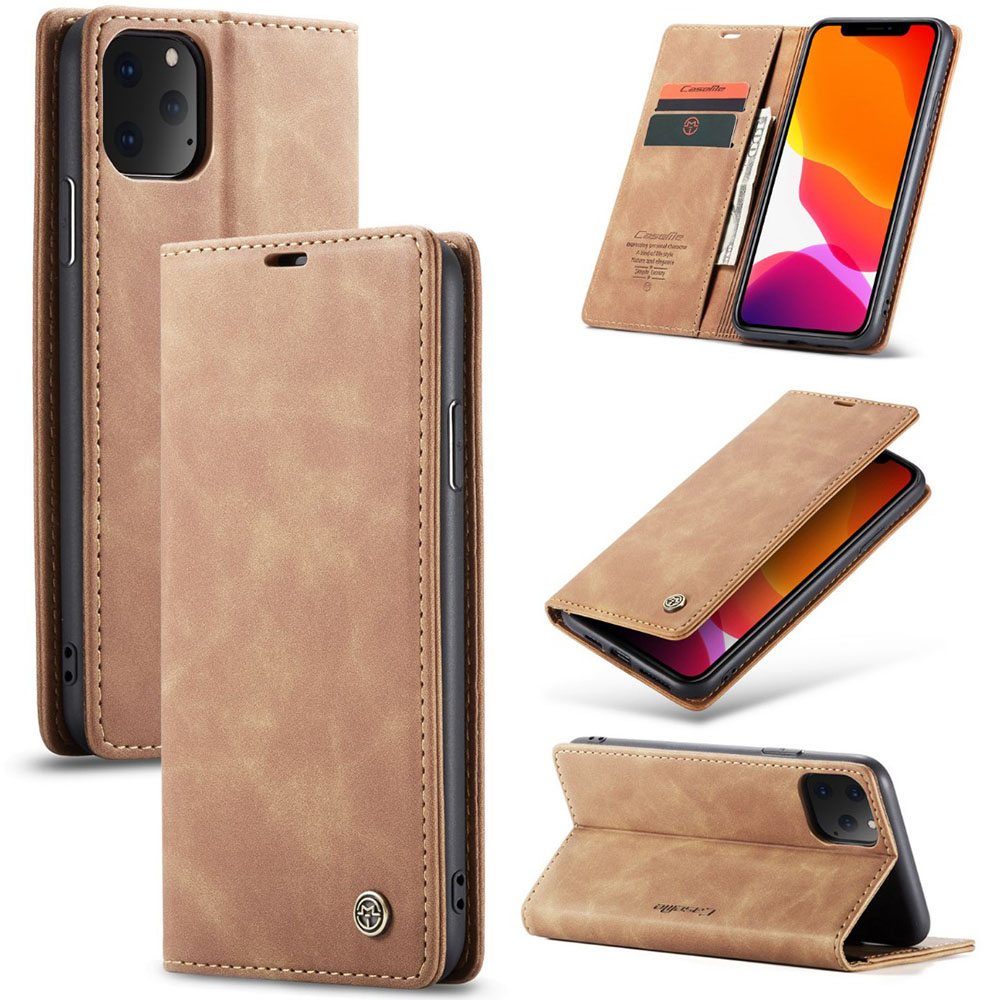 Luxury Leather Magnetic Flip Case For iPhone XS XR X 11 Pro Max Wallet Card Holder Book Cover For iPhone 8 7 6 6s Plus Etui Capa image
