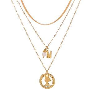 Мода темперамент женщин многослойное ожерелье с ручным заводом Ретро цепочка колье ожерелье из циркона квадратной для женщин вечерние ко дню рождения, ювелирное изделие, подарок