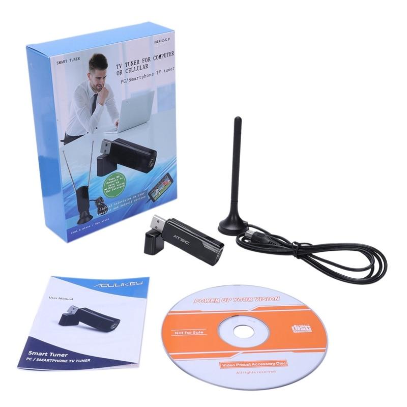 Digital Atsc Tv Tuner Receiver Live Tv Hdtv Windows Pc Usb Dongle For Usa/Korea /Mexico/Canada 17