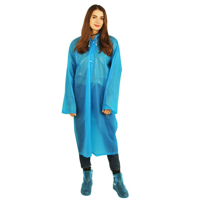 New Reusable Protective Blouse Hooded Top Rain Jacket Prevents Splashing Body Raincoats Anti-spit Anti-splash Rain Coat Outdoor