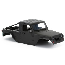Hard Plastic 313mm 12.3in Wheelbase Unassembled Kit Pickup Body Shell for 1/10 RC Crawler Axial SCX10 90046 Jeep Wrangler