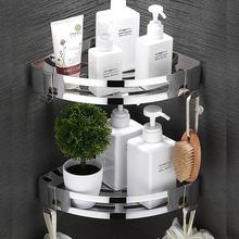 Полка для душа ванной комнаты кухонный Органайзер из нержавеющей