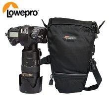 Lowepro Toploader Pro 75 AW DSLR 카메라 삼각형 숄더 백 레인 커버 휴대용 허리 케이스 홀스터