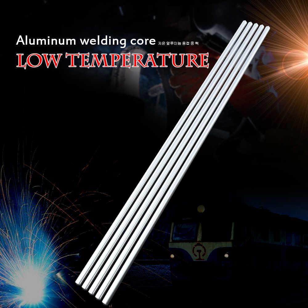 10 pcs 3.2mm * 230mm 저온 알루미늄 솔더 막대 용접 와이어 플럭스 코어 납땜 막대 필요 없음 솔더 파우더