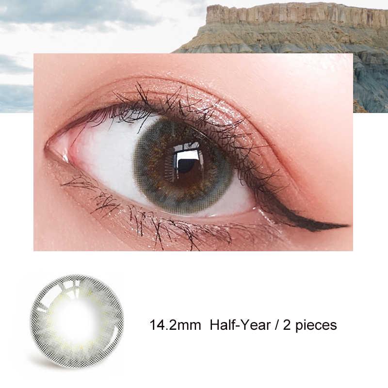 Soczewki kontaktowe do korekcji wzroku z dioptrii stopnia pół roku krótkowzroczność moc receptę szkła okularowe Vision soczewki opieki zdrowotnej