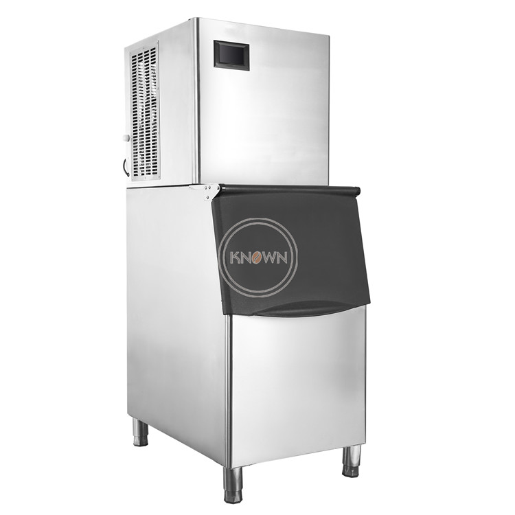 Hbbd2ae2024784fbab93df91955e7a75bM - 150kg/day Automatic Ice Making Machine Commercial Cube Ice Maker Small Business Machinery for Milk Tea Bar Coffee shop
