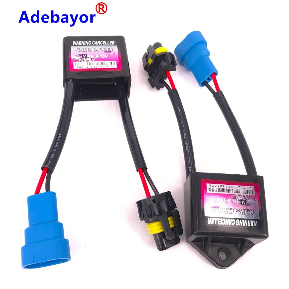 2pcs C6 Canbus HID Xenon Kit Warning Canceller Decoder Device Error Free Canceler For H1 H3 H4 H7 H11 Xenon Headlight