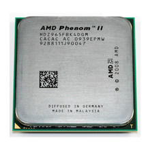 Б/у AMD Phenom II X4 965 3,4 ГГц Quad-Core Процессор процессор HDZ965FBK4DGM гнездо AM3