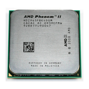 used AMD Phenom II X4 965 3.4 GHz Quad-Core CPU Processor HDZ965FBK4DGM Socket AM3