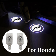 Car Led Light For Honda Civic 8 8th Insight Acura MDX ZDX TL TLX RLX 2 Pcs Car Door Welcome Light Projector Ghost Shadow Lamp hydraulic auto tensioner timing belt adjuster oem 14520 rca a01 dtd2001 70994 for hhonda odyssey pilot aacura rl tl mdx zdx 2pcs