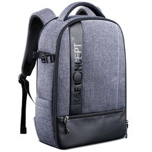 K&F Concept Professional Camera Backpack Large Capacity Waterproof Photography Bag for DSLR Cameras,15
