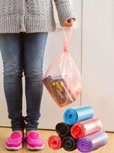 Vanzlife büyük çöp torbaları ev taşınabilir yelek tipi çöp torbaları mutfak renk kalınlaşma küçük plastik poşetler fabrika dağıtıcı