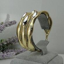 Yuminglai золотые браслеты из Дубаи 24K, модный большой браслет FHK8687