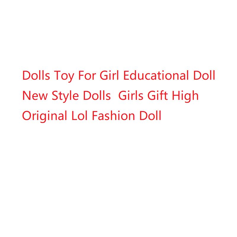 Monster High Dolls Toy For Girl Educational Doll New Style Girls Gift Original Lol Fashion