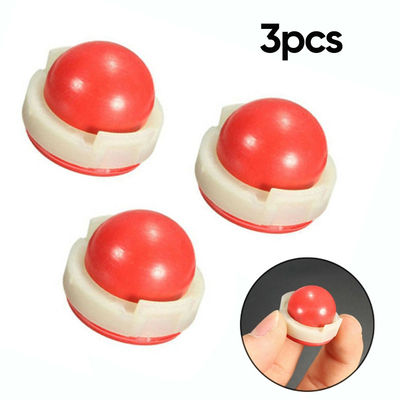 New 3 Pcs Rubber Primer Ball Bulb For Briggs & Stratton 694394/494408 Lawn Mowers Parts