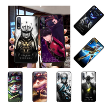 Nbdruicai League Of Legends Lol Pahlawan Cover Hitam Soft Shell untuk Huawei Honor 20 10 9 8 8X 8C 9x 7C 7A Lite Lihat(China)