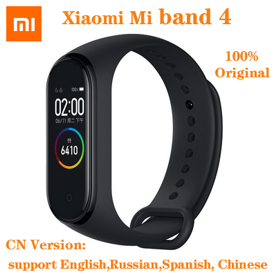 Original Xiaomi Mi Band 4 Smart Watch AMOLED Color Screen HeartRate Fitness Sport 50ATM Waterproof Smart Bracelet  Bluetooth 5 0