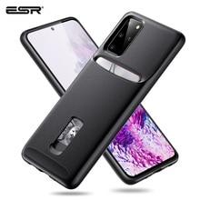 ESR kılıf Samsung Galaxy S20 artı S20 Ultra telefon kılıfı kart cüzdan tutucu İş TPU PC koruyucu kılıf kapak için S20 S20 +