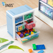 Buy BNBS Toy Organizer Storage Box For Toys Lego Blocks Accessories Drawer Box Plastic Container Wall Finishing Box Toy Storage Bin directly from merchant!