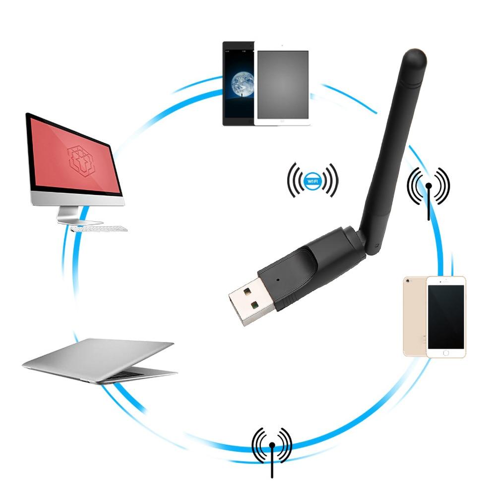 התקן ווייפי מתאם רשת WIFI USB מחשב נייח לוקו0ט לקניה בזול