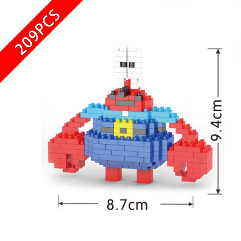 جديد سبونجبوب سلسلة لعب السلطعون بوس متوافق lepinngly سبونجبوب سلسلة 229 ألعاب مكعبات البناء للأطفال هدية عيد ميلاد