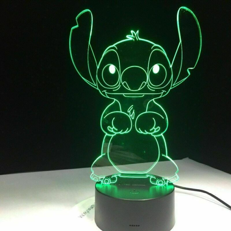 Cartoon Cute 5V 0.5W USB Warm Light Animal Print 3D LED Night Light Home Decorative Table Lamp 3D Night Lamp Kids Toy Gift