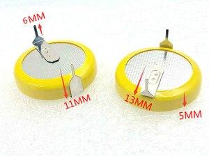 Image 2 - Nowy! 5 sztuk oryginalne LIR2450 2450 akumulator litowo jonowy 3.6V ogniwo monety bateria zapasowa akumulator innych CR2450