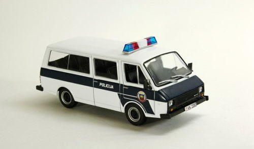 DEA 1:43 Alloy Car Model Russian Car LAV Car Police Car Model Ambulance RAF 22038 Model Car