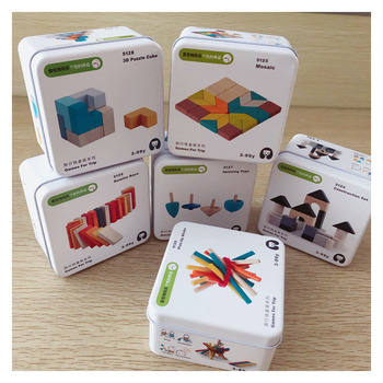 Travel Game Early Learning Education Intelligence Building Block Disassembly Toys Children Cognitive Interactive Game Toys Gift