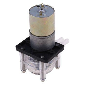 DC 12 24V pompa perystaltyczna duży przepływ pompa dozująca próżni laboratorium akwariowe analityczne X9FA tanie i dobre opinie CN (pochodzenie) Dropshipping Item Large Flow Peristaltic Pump 12V 24V DC motor 0 5-1 4A Ball bearing 0 - 400ml min